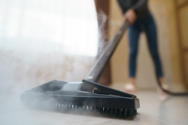 Καθαρισμός επιφάνειας με ατμό
