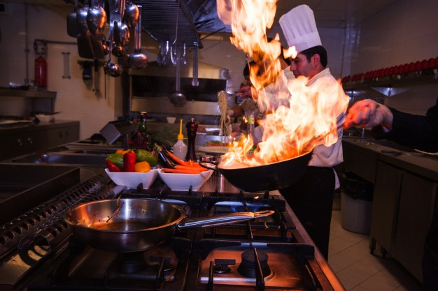 Φωτιά σε κουζίνα